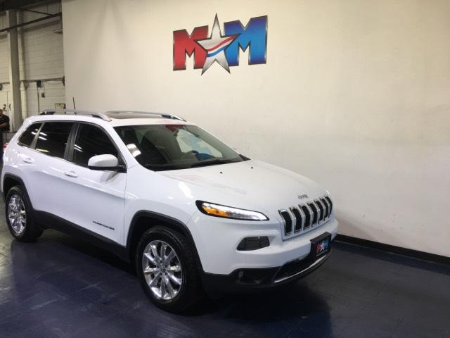 Pre-Owned 2016 Jeep Cherokee 4WD 4dr Limited