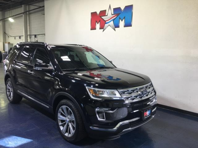 Pre-Owned 2018 Ford Explorer Limited 4WD