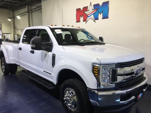 Pre-Owned 2018 Ford Super Duty F-350 DRW XLT 4WD Crew Cab 8' Box