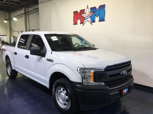 Pre-Owned 2018 Ford F-150 XL 4WD SuperCrew 5.5' Box