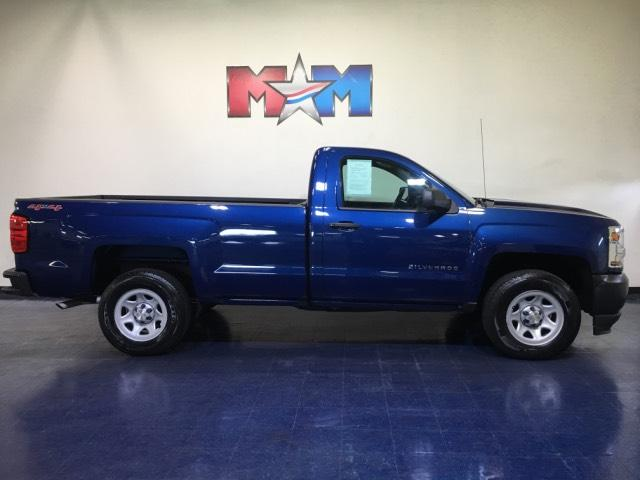 Pre Owned 2017 Chevrolet Silverado 1500 4wd Reg Cab 133 0 Work Truck 4wd Regular Cab Pickup