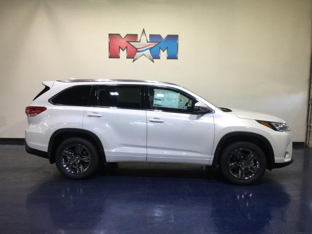 Toyota Highlander Limited >> New 2019 Toyota Highlander Limited Platinum V6 Awd Awd Sport Utility