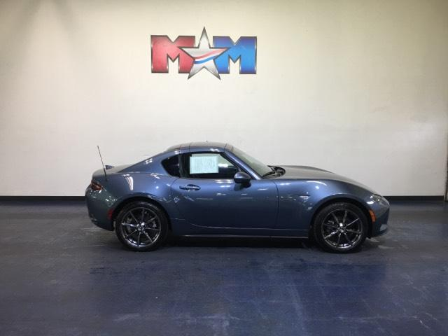 Pre Owned 2017 Mazda Mx 5 Miata Rf Grand Touring Auto