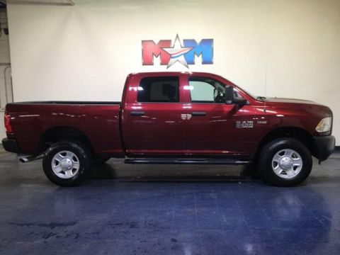 Pre-Owned 2018 Ram 3500 Tradesman 4x4 Crew Cab 6'4 Box