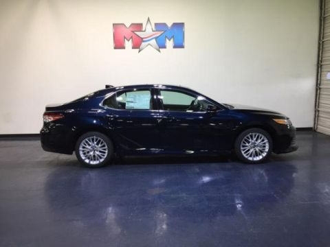 New 2018 Toyota Camry XLE V6 Auto With Navigation