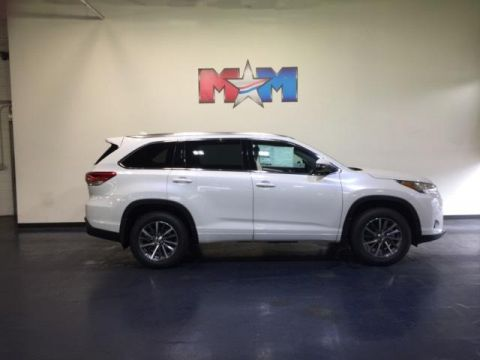 New 2018 Toyota Highlander XLE V6 AWD