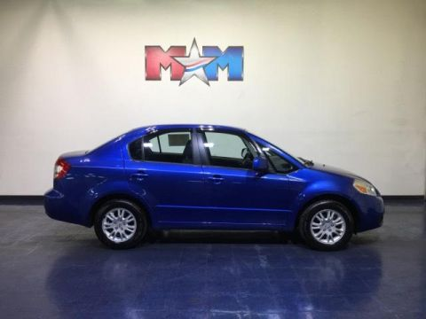Pre-Owned 2012 Suzuki SX4 4dr Sdn CVT LE Popular FWD