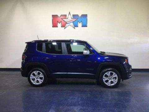 Pre-Owned 2018 Jeep Renegade Limited 4x4